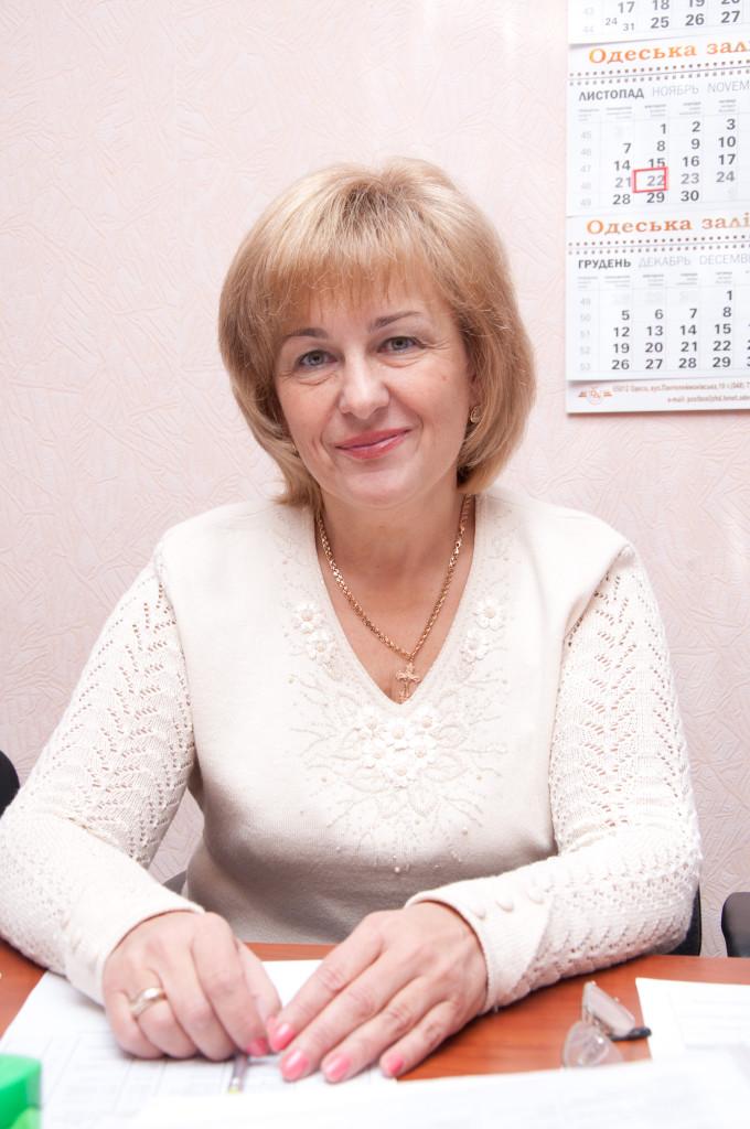 Заступник директора з навчальної роботи  Бердичевська Тетяна Михайлівна